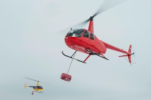 <center><b>Гольф на вертолетах</center></b>
