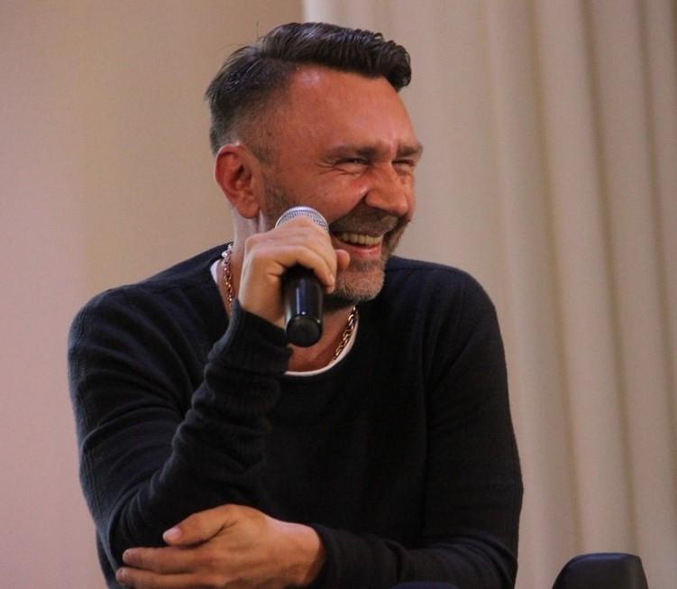Сергей Шнуров встретился со студентами
