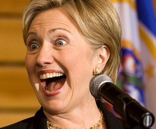 Хиллари Клинтон по ошибке объявили президентом