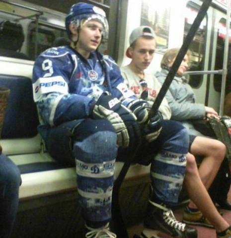 Самое спортивное метро в мире