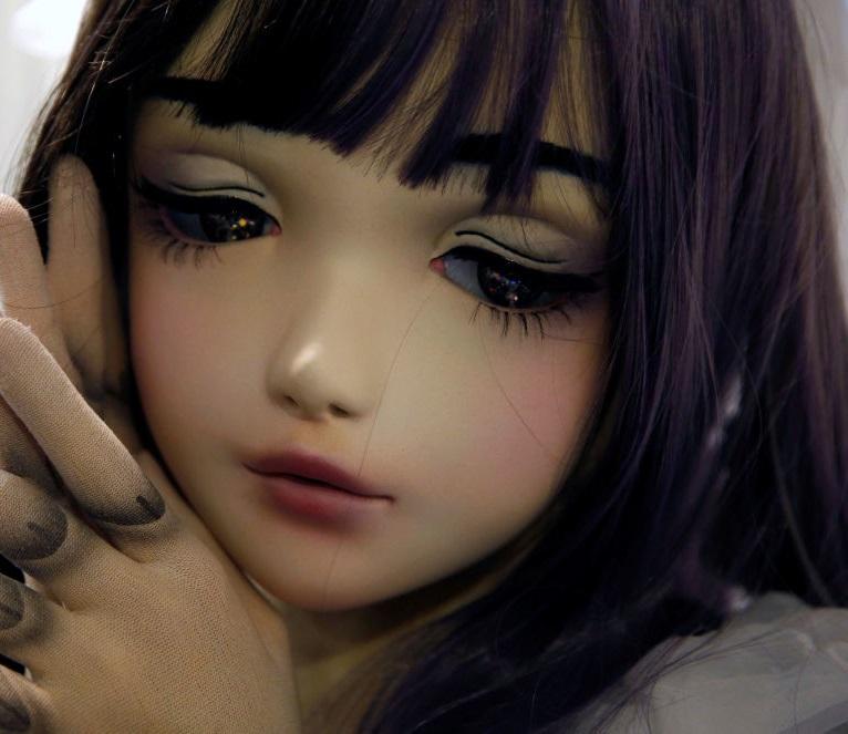 Человек-кукла из Японии