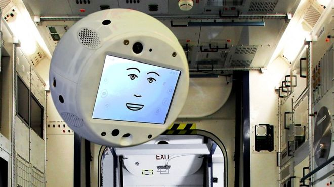На МКС появится робот-психолог
