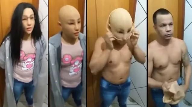 Бразильский преступник прикинулся девочкой ради побега