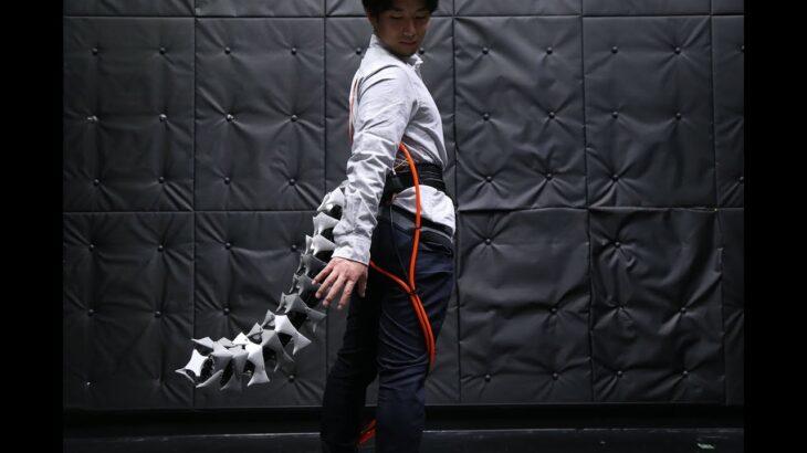 Японцы создали «робохвост» для человека