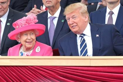 Елизавета II пожаловалась на Трампа