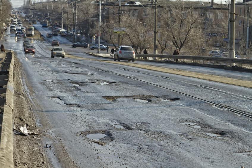Иностранцы назвали российские дороги «массажером для спины»