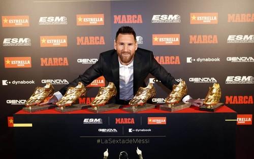 Барселона представила Месси в виде козла