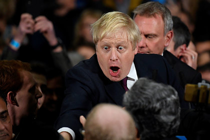 Борис Джонсон спрятался в холодильнике от журналистов