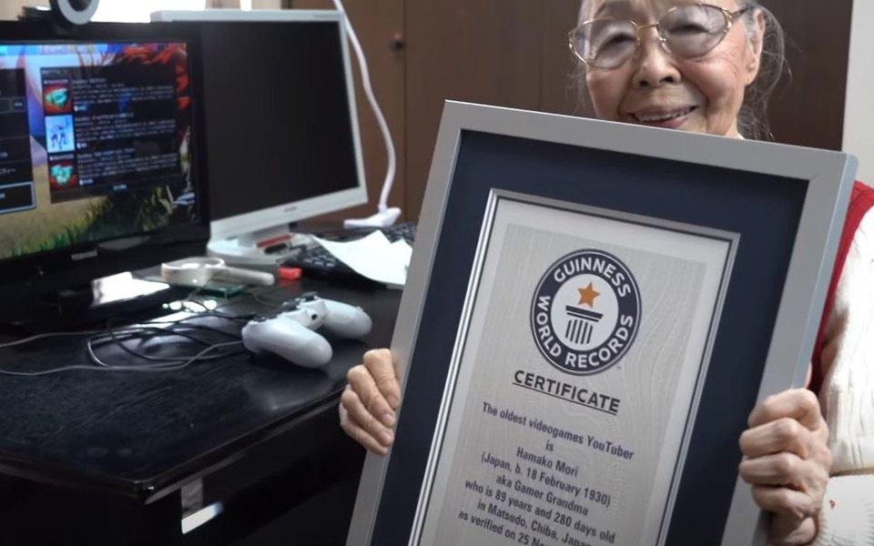 Пенсионерка из Японии стала самым пожилым геймером в мире
