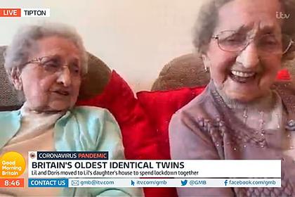Старейшие близняшки Британии раскрыли секрет долголетия