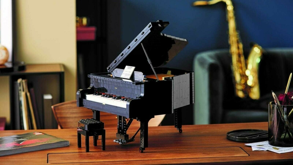 Создатели известного конструктора придумали лего-рояль