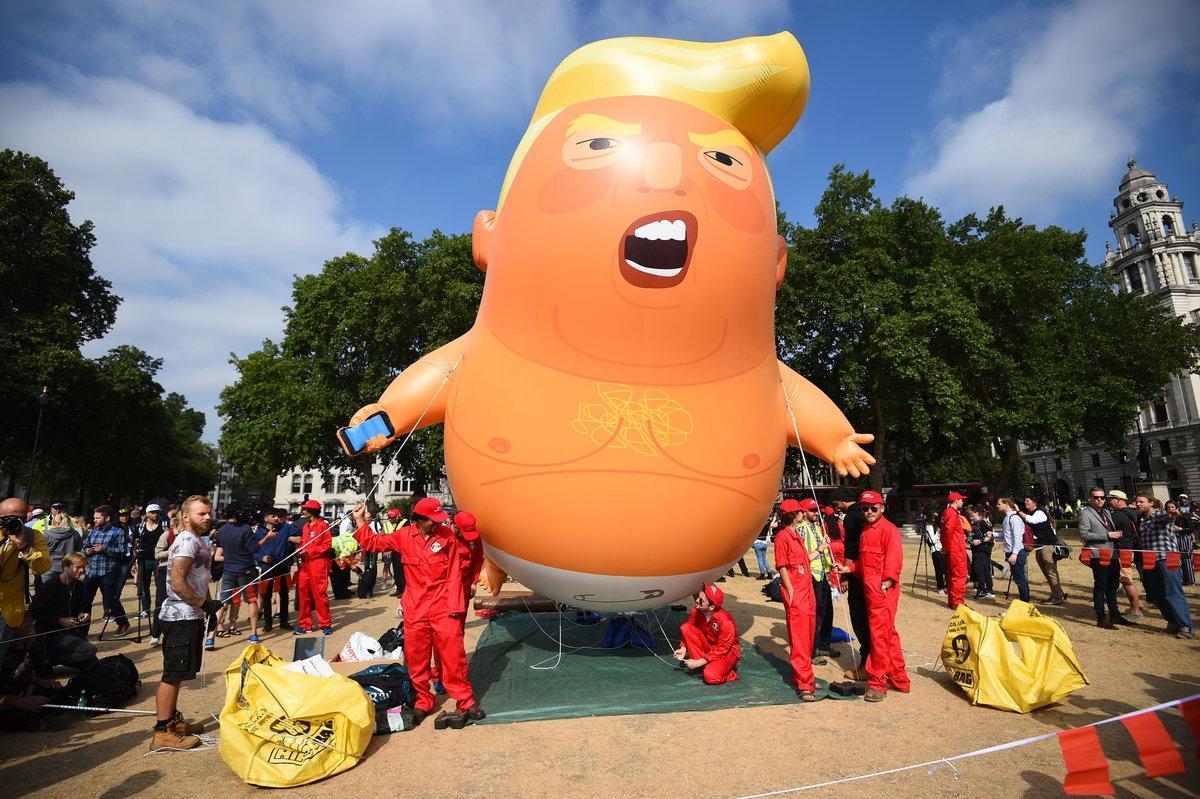 Трампа надули и отправили в музей